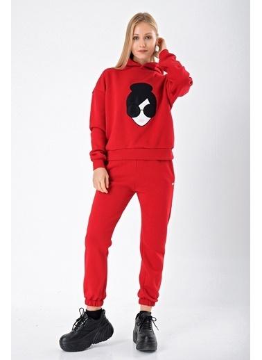 Goja Sport Sweatshirt Kırmızı